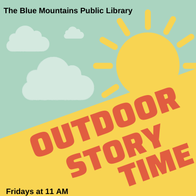 Outdoor Story Time: WEATHER PERMITTING