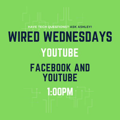 Wired Wednesdays Live: YouTube (Video)