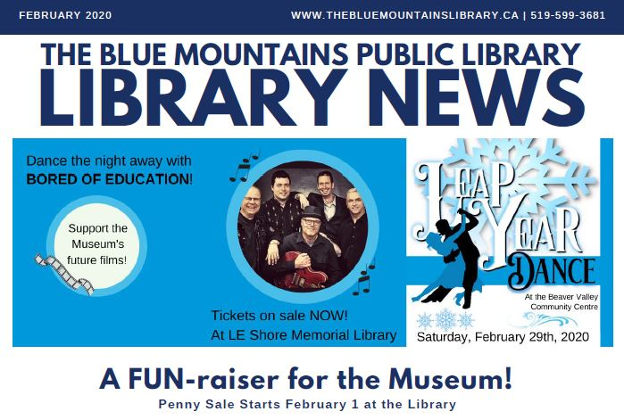 Library News, February 2020
