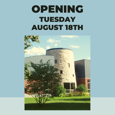 L.E. Shore Library reopens to the public on Tuesday, August 18